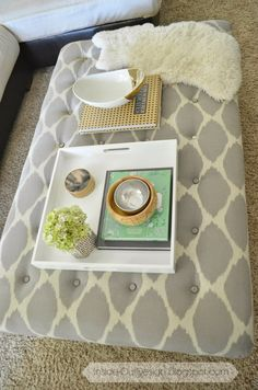 coffee table ottoman http://www.inside-outdesign.blogspot.ca/p/house-tour.html