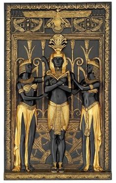 Egyptian Art in black and gold.You can find Egyptian art and more on our website.Egyptian Art in black and gold. Egyptian Mythology, Egyptian Symbols, Egyptian Goddess, Ancient Symbols, Egyptian Art, Ancient Artifacts, Ancient Egypt Art, Ancient History, Art History