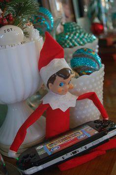 The Elf On A Shelf ideas