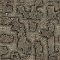 Heroic Maps - Geomorphs: Cavern Tunnels - Cavern Tunnels Cavern Tunnels is a printable dungeon floorplan compatible with any RPG/Dungeon-Crawl game. Dungeon Tiles, Dungeon Maps, Map Layout, Fantasy Map, Fantasy Landscape, Pen And Paper, Cartography, Caves, Dungeons And Dragons