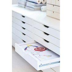 IKEA ALEX Drawer unit on castors WHITE