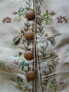 c.1770 Embroidered Silk Waistcoat