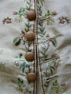 c.1770 Embroidered Silk Waistcoat
