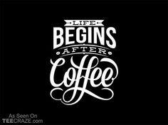 Life Begins T-Shirt - http://teecraze.com/life-begins-t-shirt/ -  Designed by twicolabs
