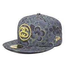 d0d730f802993 stussy Gold Flake New Era Hat