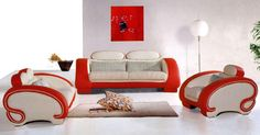 Red And White Leather Furniture Care With Rug Fur ~ http://lanewstalk.com/tips-for-leather-care-furniture/