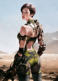 ArtStation - girl, Siwoo Kim
