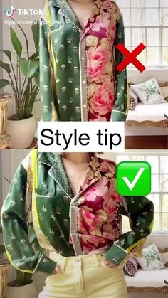 Jessica Wang( on TikTok: Style hack for oversized shirts or pajamas. Comment to let me know what you wanna see next! Teen Fashion Outfits, Mode Outfits, Hijab Fashion, Fashion Mumblr, Fashion 2020, Spring Fashion, Girly Outfits, Fashion Clothes, Street Fashion