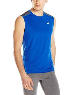 ASICS Asics Men'S Performance Run Lyte Sleeveless Top. #asics #cloth #