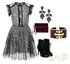 """""""CONCEITED"""" by cole222 on Polyvore featuring Elie Saab, JustFab, Fallon, MANGO and Steve Madden"""