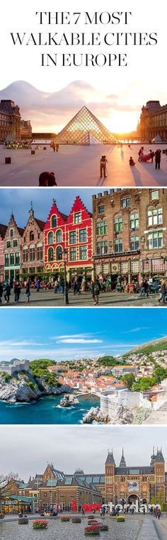 The 7 Most Walkable Cities in Europe   via @PureWow