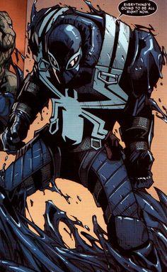 Superior Spider-Man #25 :: Eugene Thompson / Agent Venom by Humberto Ramos, Ink - Victor Olazaba, Colourist - Edgar Delgado