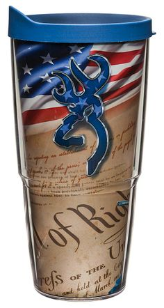 Tervis Tumbler® Browning™ Buckmark Patriotic Insulated Wrap With Lid | Bass Pro…