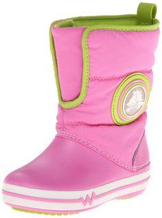 2b60f1a98985 crocs CrocsLights Gust Boot PS - Botas para niños  Amazon.es  Zapatos y