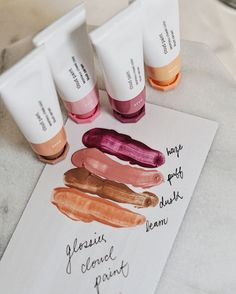 Glossier Cloud Paints have arrived ☁️