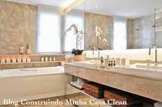 Banheiros para Casais!!! Veja Dicas para Planejar o Seu!