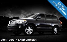 Check out this Deal!! Beautiful #Toyota #Land #Cruiser wirth great savings available!! Find more info here: http://carcoupons.nj.com/cars/New-2014-TOYOTA-LAND-CRUISER-BERGEN-Englewood-Cliffs-NJ-07632_31130169 #Coupons #Savings #Discounts #Usingcoupons #Njcarcoupon