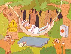 Joren Cull - Illustration