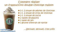 Recette du frappuccino de starbucks