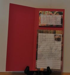 Winnie's Whims & My Crafts: Calendars and Pads - great use of these pads!