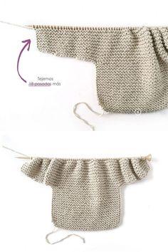 How do I create a knitted kimono baby jacket? How do I create a knitted kimono baby jacket? , How to make a Knitted Kimono Baby Jacket - Free knitting Pattern & tutorial , Knitting Source by janak. Baby Sweater Knitting Pattern, Baby Sweater Patterns, Knitted Baby Cardigan, Knit Baby Sweaters, Free Knitting, Baby Patterns, Knitted Baby Clothes, Crochet Jacket, Baby Knits