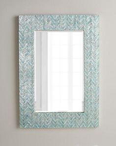 Adriana Chevron Mirror