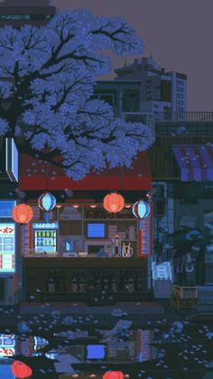 Anime Scenery Wallpaper, Landscape Wallpaper, Aesthetic Pastel Wallpaper, Aesthetic Backgrounds, Cool Wallpaper, Wallpaper Backgrounds, Aesthetic Wallpapers, Aesthetic Japan, City Aesthetic
