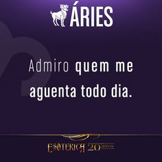 """#Áries #signos #zodíaco #love #me #beautiful #like #instagood #photooftheday #picoftheday #quote #quotes #pensamentos #frases #livro ♈"" Aries Art, Portuguese Quotes, Aries Traits, Zodiac Signs, Thoughts, Humor, Instagram, Life, Picoftheday"