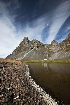 Mt. Eystrahorn (756 m), Hvalnes / South-east Iceland by skarpi - www.skarpi.is, via Flickr