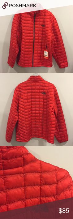 The North Face Men's Thermo Ball Jacket The north face men's thermal ball jacket great for spring or fall size extra large color red.No stains and comes with original tags. The North Face Jackets & Coats Ski & Snowboard