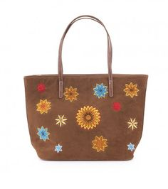 Bolso shopping flores IXOO Outlet, Michael Kors Jet Set, Tote Bag, Fashion, Good Things, Winter, Spring, Flowers, Women