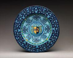 #Maiolica  --  Dish  --  Casa Pirota Factory  --  Florence  --  The Metropolitan Museum of Art