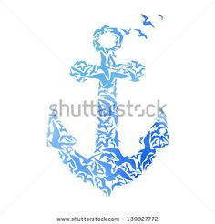 Cool idea for a tat...but with sharks instead of birds ;-)...