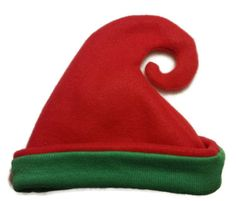 Christmas Elf Hat for Baby Toddler and Child Red by BabyHatIsland, $15.00
