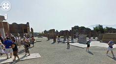 Pompei - view central square