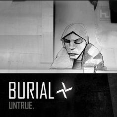"Burial ""Untrue"" on Hyperdub"
