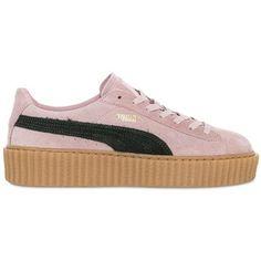 PUMA SELECT Rihanna Suede Creeper Sneakers