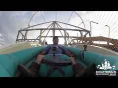 Incredibly Brave/Foolish Humans Become First Ever To Ride The World's Tallest Water Slide