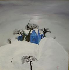 Stefan Caltia Winter Art, Yahoo Images, Image Search, Traditional, Art Prints, Contemporary, Paintings, Outdoor, February