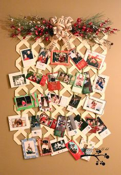"Crafty Texas Girls: Christmas in July- ""Lattice Card Display"""