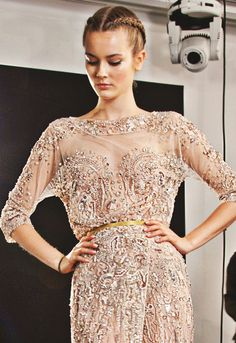 Fuck Yeah Fashion Couture | Backstage Elie Saab Haute Couture Winter 2012
