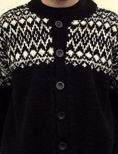 Ravelry: Lillians herrekofte pattern by Lillian Thorsen Ravelry, Christmas Sweaters, Knitting Patterns, Knits, Craft Ideas, Fashion, Jackets, Tricot, Threading