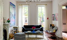 /// Mike Diamond - better known as Mike D, founding member of the Beastie Boys   - recently let The New York Times have a snoop around his spacious 3,200-square-foot Brooklyn townhouse, which he shares with his wife Tamra Davis + their two sons. The premises took six months to renovate.