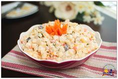 Filipino Style Chicken Macaroni Salad