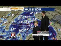 KVLY Scheels Weather Kid Steals The Show