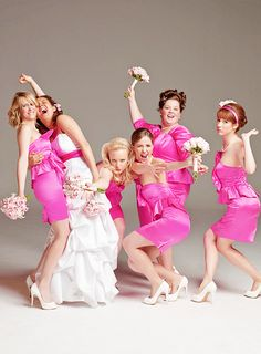 bridesmaids! i would love to do this pose for my wedding!