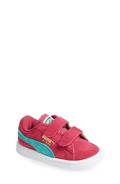 Free shipping and returns on PUMA Suede Sneaker (Walker, Toddler & Little Kid) at Nordstrom.com. A signature PUMA stripe accents a classic suede sneaker available in fun electric hues.