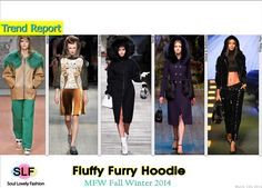 Fluffy Furry Hoodie #Fashion Trend for Fall Winter 2014 #Fall2014 #Fall2014Trends #Winter2014 #FashionTrends2014 #Fur #Hoodie