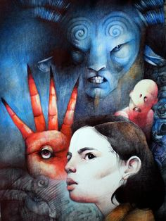 Pan's Labyrinth by KaterinaChadoulou.deviantart.com on @DeviantArt