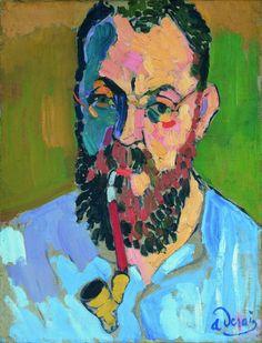 Henri Matisse, de André Derain, 1905, Londes Tate © André Derain.